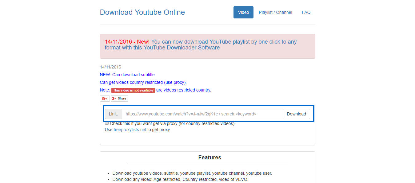 Download Youtube Video Subtitle Playlist Channel Online Free