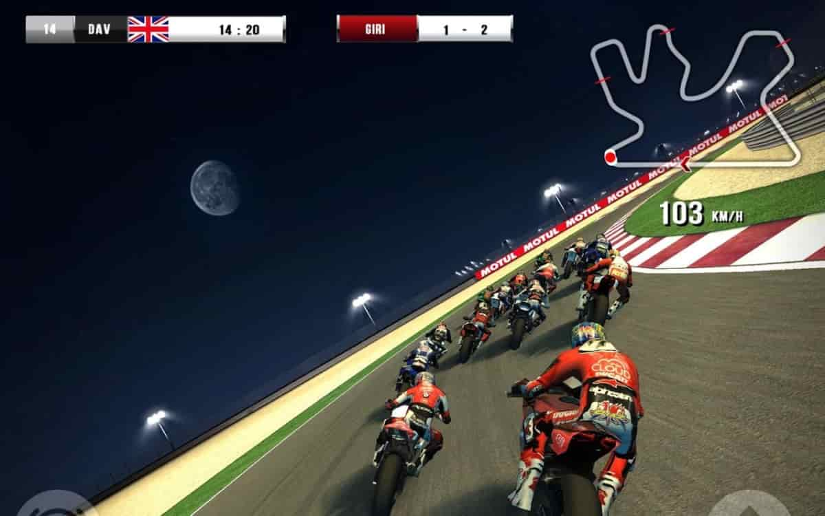 Motorcycle racing games