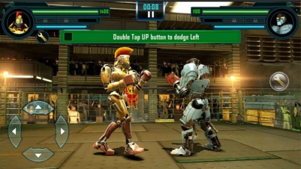 Robot Fighting Real Steel