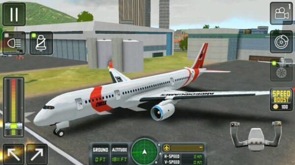 Flight SIM Android game under 500mb